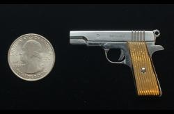 COLT 1911-2mm Pinfire Gun USA's Polished Steel Pistol