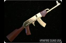 AK-47 Gold Plated 2mm Pinfire Rifle-PFGUSA